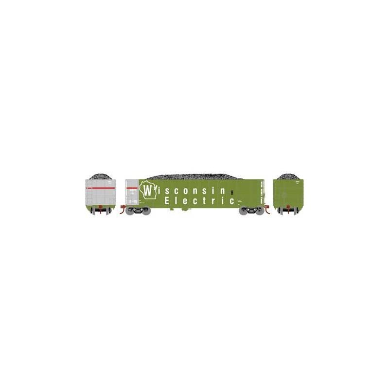 HO Thrall High Side Gondola Western Electric 121_68360