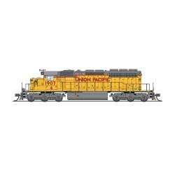 N EMD SD40-2 low hood Union Pacific 1907 Paragon 4_68454