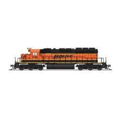 N EMD SD40-2 low hood BNSF 1734 Paragon 4_68464