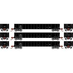 HO 52 Mill Gondola CEFX 3-car Set_68821