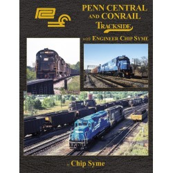 Penn Central and Conrail Trackside with Engineer C_69005