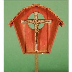 1:35 - Roadside Shrine Kit (Laser-Cut Wood)_69151