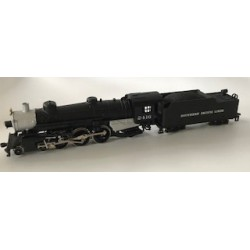 HO 4-6-2 Pacific Southern Pacific 2416 DC_69723