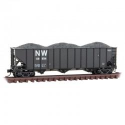 N 100 Ton 3-Bay Open Hopper N&W 118894_69816