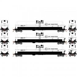 HO 62' Tank Car GE Rail Services 3-car_69850