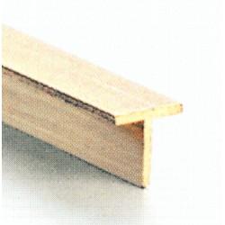 Messing T Profil 1.0 x 1.0 mm 500 mm lang_699