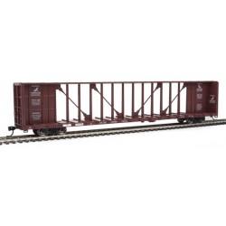 HO 72' Centerbeam Flat Car Tomahawk Railway 874232_69905
