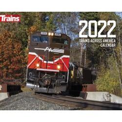 2022 Trains across Amerika Kalender 2022 -Kalmbach_70282