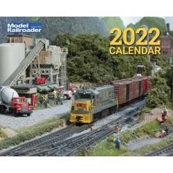 2022 Model Railroad Kalender 2022 - Kalmbach_70283