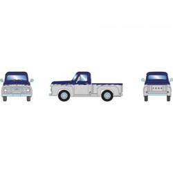 HO Ford F-100 Pick-up two-tone blue / gray_70413