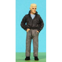 2301-A102 Man wearing leather Jacket_7049