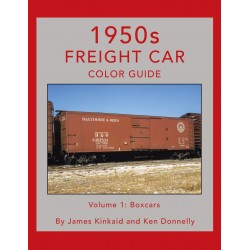 1950s Freight Car Color Guide Volume 1: Box Cars_70790