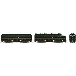 HO FA-1 + FB-1 Pennsylvania 9607A + 9607B - DCC_70878