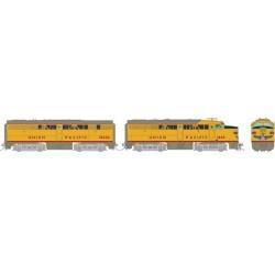 HO FA-1 + FB-1 Union Pacific 1603 + 1622B - DCC_70880