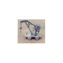 6301-0122 G Shop Work Crane on Car (kit)_7163