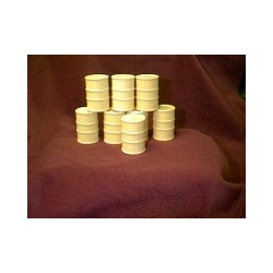 6301-0272 55 Gallon oil drums, wood_7226