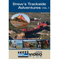 DVD Drew's Trackside Adventures vol. 1_7594