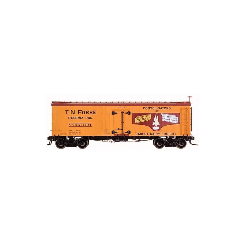 151-9055-2 O 36' Wood Reefer Car T.N.F. #3101_7756