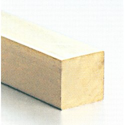 9-7822 Vierkantprofil Messing 2 x 2 mm 100 cm_794
