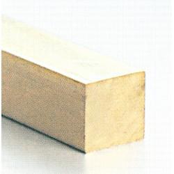 9-782525 Vierkantprofil Messing 2.5 x 2.5 mm 100cm_796