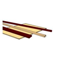 521-285-OP Vierkant-Profil 6.40 mm x 6.40 mm