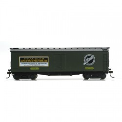 480-84609 HO 40' Wood Milk Car Pfaudler 501_8225