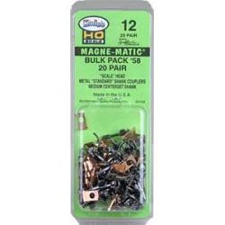 380-12 HO Standard Shank Bulk Pack Couplers_863