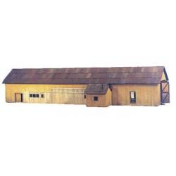 650-1158 HO DRGW Durango, Colorado Car Repair Barn_8630