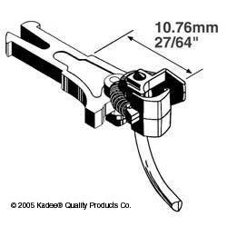 380-19 HO Standard Head NEM 362 Couplers_871