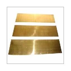 Messing Platte 0.10 x 102 x 254 mm (1 Platte)_8842