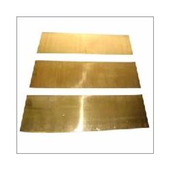 Messing Platte 0.10 x 102 x 254 mm (6 Stück)_8843