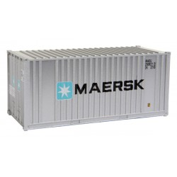 949-8001 HO 20' Ribbed-Side Container Maersk_8925