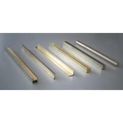 Messing Sechskant Profil 1,00 x 980 mm (1 Stück)_9218