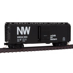 N 40' Standard Box Car Sgl. Door N&W 44554_9244
