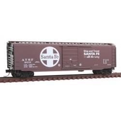 N 50' Standard Box Car ATSF 9010_9297