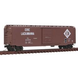 N 50' Standard Box Car Erie Lackawanna 63300_9299