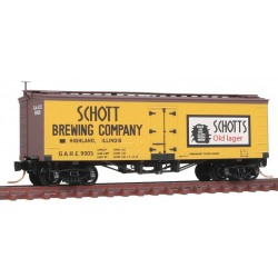 N 36' Wood Sh. Ice Reefer Schotts Brewing 9905_9379