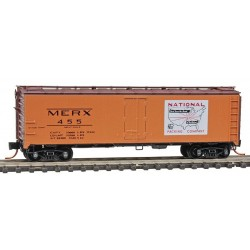 N 40' single door box car National Packing Co. 455_9391