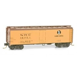 N 40' Steel Ice Reefer Illinois Central 16751_9392