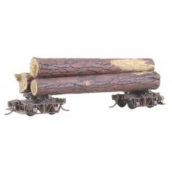 380-101 HO Log Car Kit_975
