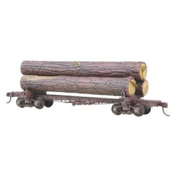 380-102 HO Log Car Kit_976