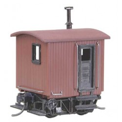 380-104 HO Log Car Kit Logging Caboose