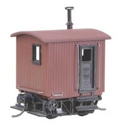 HO Log Car Kit Logging Caboose (380-104)_978