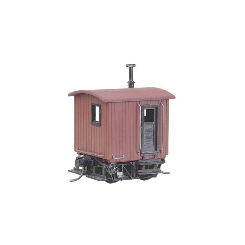 380-104 HO Log Car Kit Logging Caboose_978