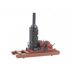 160-27301 On30 Log Cars and Acc Log Skidder_9832